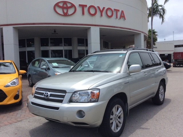 pre owned 2006 toyota highlander hybrid limited 4d sport utility in palm beach county f3993a. Black Bedroom Furniture Sets. Home Design Ideas